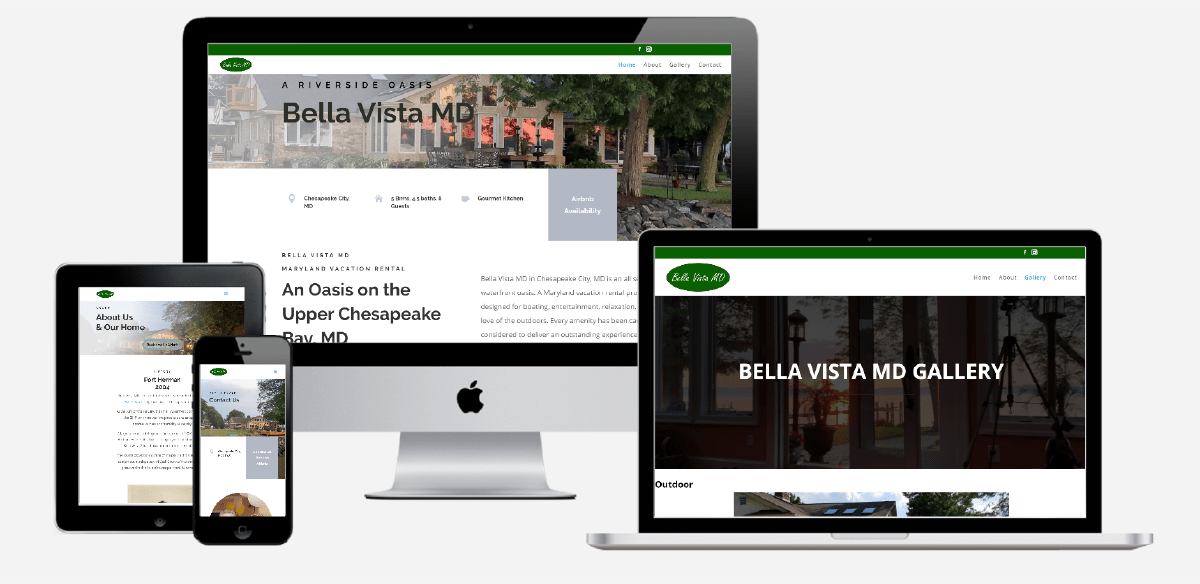 Bella Vista MD Website