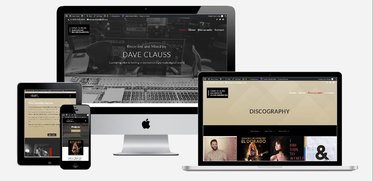 Dave Clauss Website